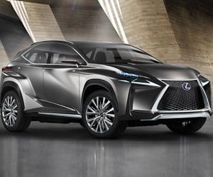 Lexus LF-NX Concept: Snub-Nosed Crossover