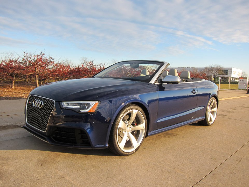 2014 Audi RS5 Cabriolet Review ...