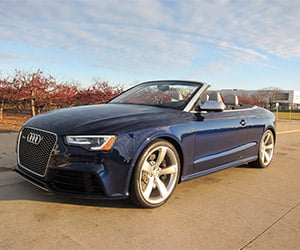 2014 Audi RS5 Cabriolet Review