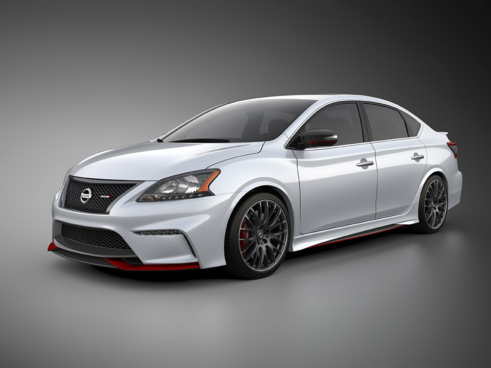 2014 nissan sentra nismo concept 95 octane. Black Bedroom Furniture Sets. Home Design Ideas