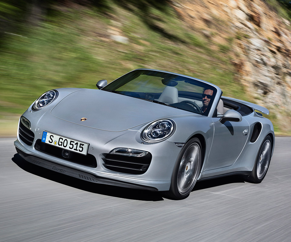 Porsche 911 Cabriolet: 2014 Porsche 911 Turbo And Turbo S Cabriolet