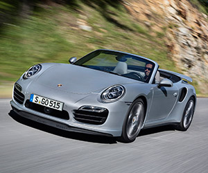 2014 Porsche 911 Turbo and Turbo S Cabriolet