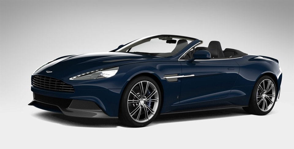 Aston Martin Vanquish Volante NM Edition