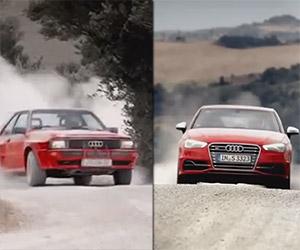 2013 Audi S3 vs. 1983 Ur-Quattro
