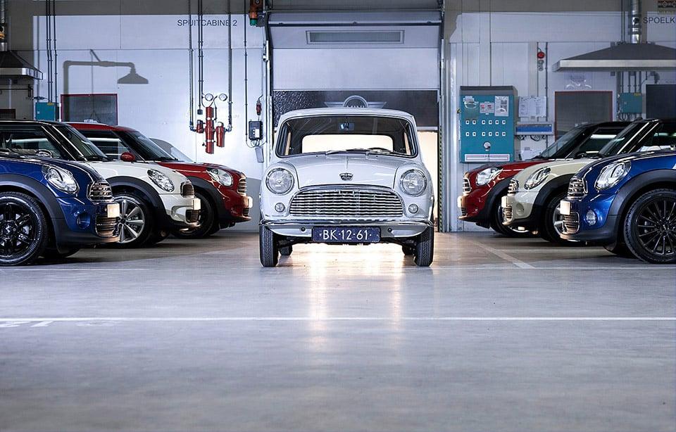 BMW Rebuilds Classic 1959 MINI
