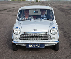 BMW Rebuilds Classic 1959 MINI