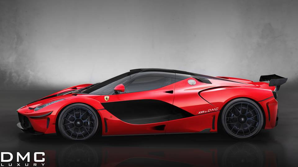 DMC Tuned LaFerrari FXXR