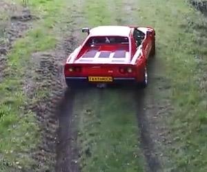 Taking the Ferrari 288 GTO Off-Road