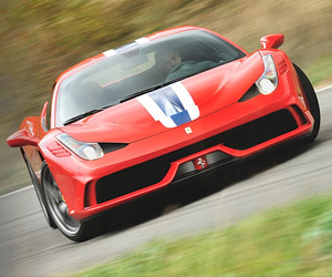 Test Driving the Ferrari 458 Speciale