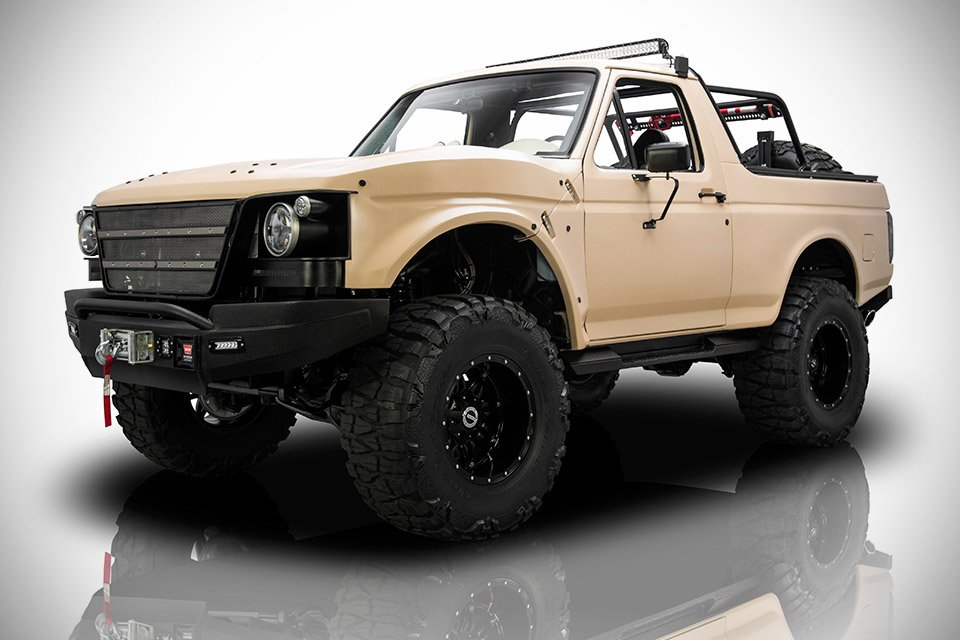 "1991 Ford Bronco ""Project Fearless"" Custom - 95 Octane"