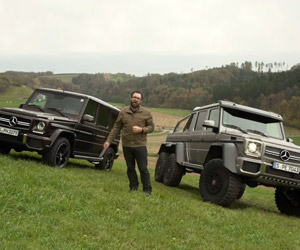 Mercedes-Benz G63 AMG vs. G63 AMG 6×6