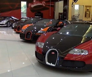 The World's Greatest Modern Supercar Collection
