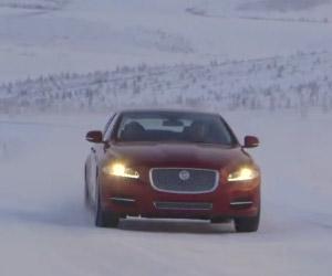 2014 Jaguar XJ Visits The Coldest City on Earth