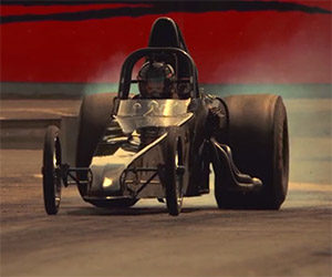 Letting Go: A Dragster in Super Slo-Mo