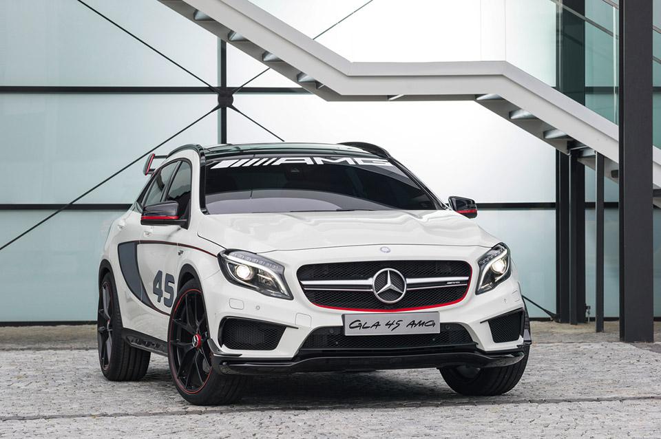 Mercedes-Benz Concept GLA45 AMG