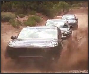 2014 Porsche Macan Heads Off-Road