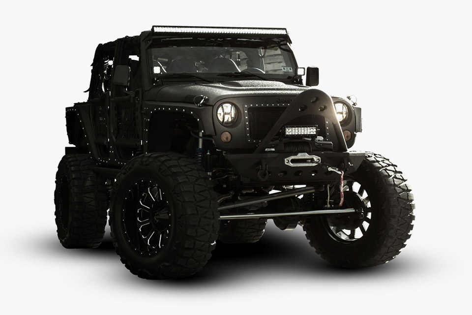 Starwood Motors Jeep Wrangler Full Metal Jacket 95 Octane