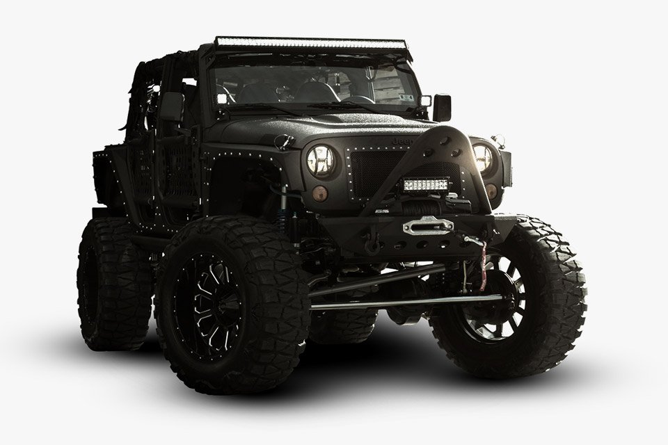 Starwood Motors Jeep Wrangler Full Metal Jacket - 95 Octane