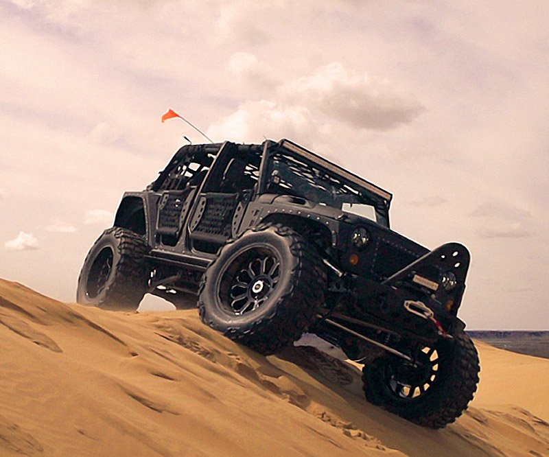 Starwood Motors Jeep Wrangler Full Metal Jacket 95 Octane