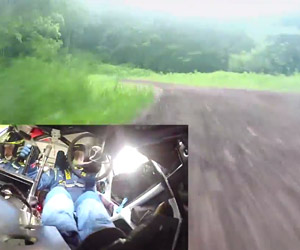 Subaru Rally Team POV Video