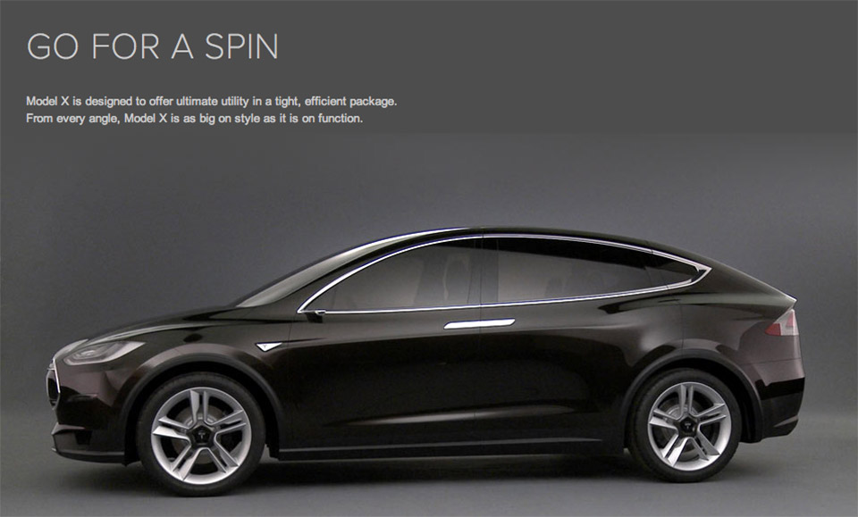 Tesla Model X: AWD Crossover