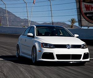 Volkswagen Racer's Dream B&W Jetta at SEMA