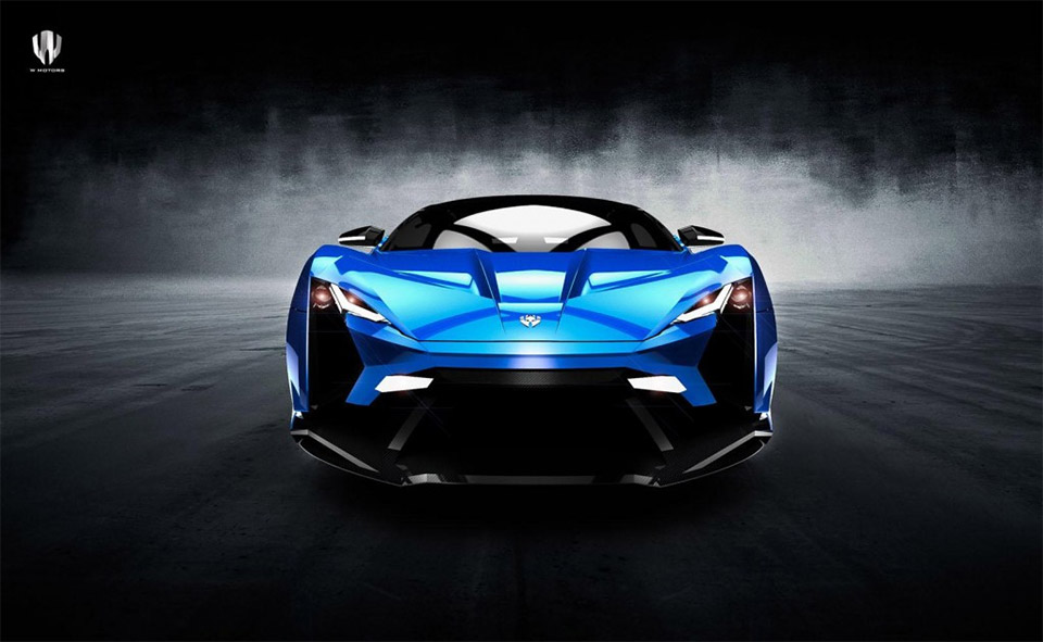 W Motors Lykan Supersport