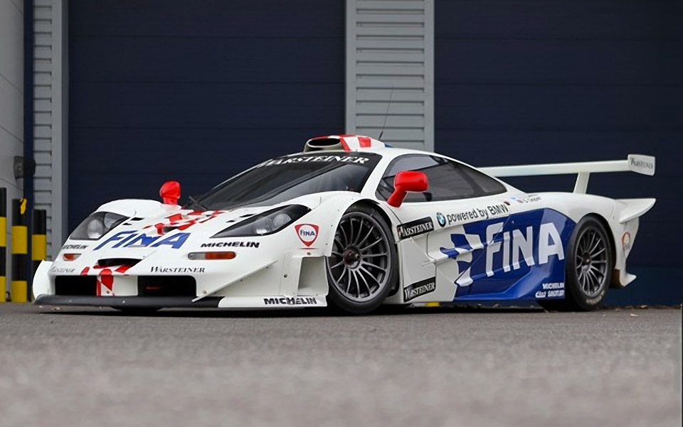 1997 Mclaren F1 Gtr Racer Up For Auction 95 Octane