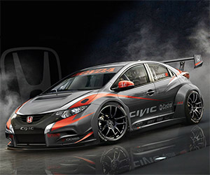 2014 Honda Civic WTCC Racer