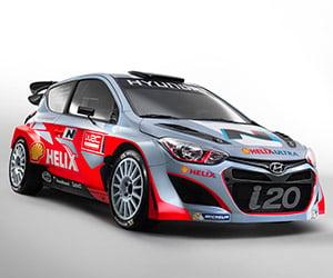 2014 Hyundai i20 WRC Rally Car