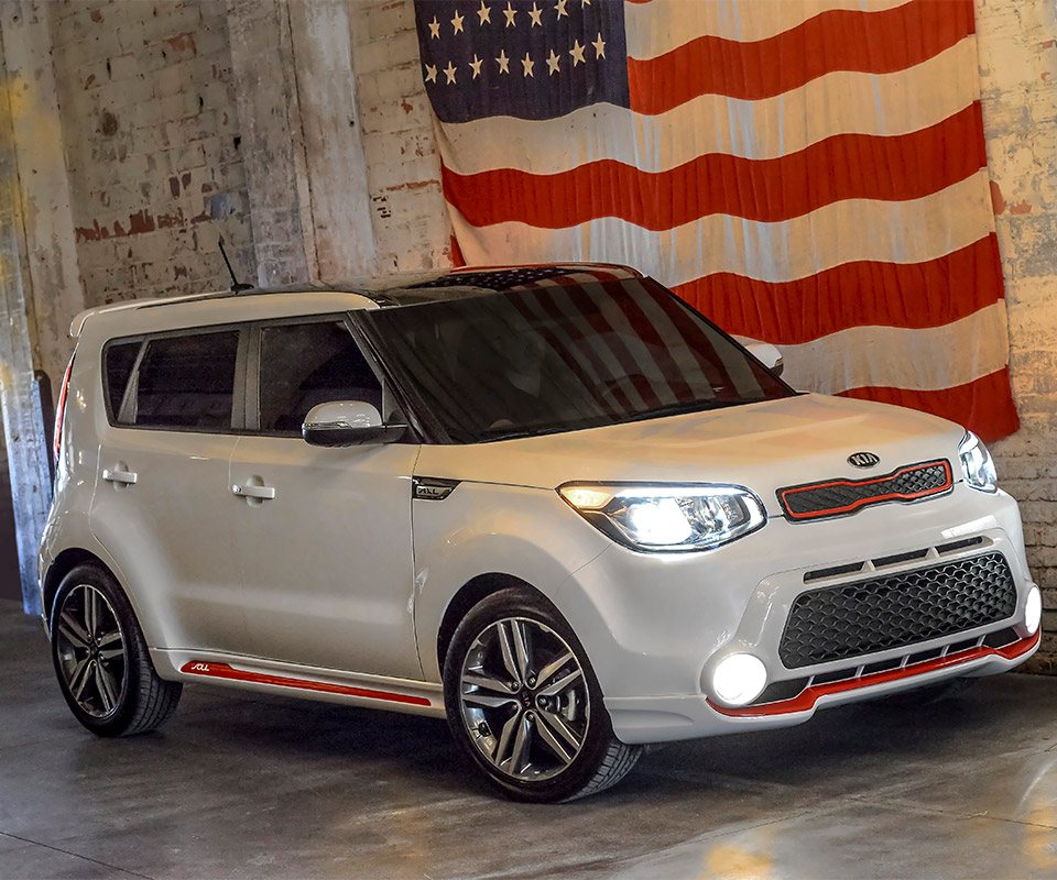 2014 Kia Soul Red Zone Edition 95 Octane