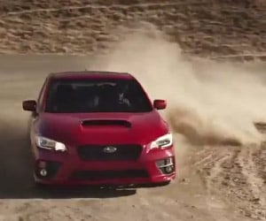 2015 Subaru WRX Tears up Some Dirt