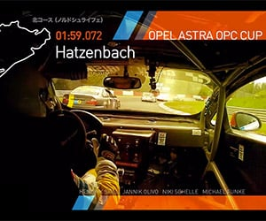 One Lap of the Nürburgring with RTR Racing