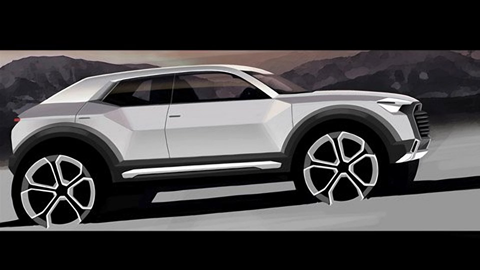Audi Expecting New Baby: Q1 Compact SUV