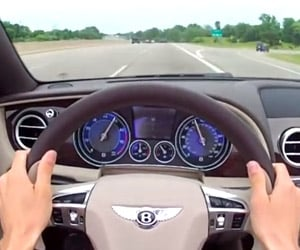 2013 Bentley Continental GTC V8: POV Drive