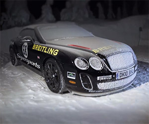 Winter Driving Experience with Bentley Motors
