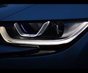 BMW's Futuristic Laser Headlights