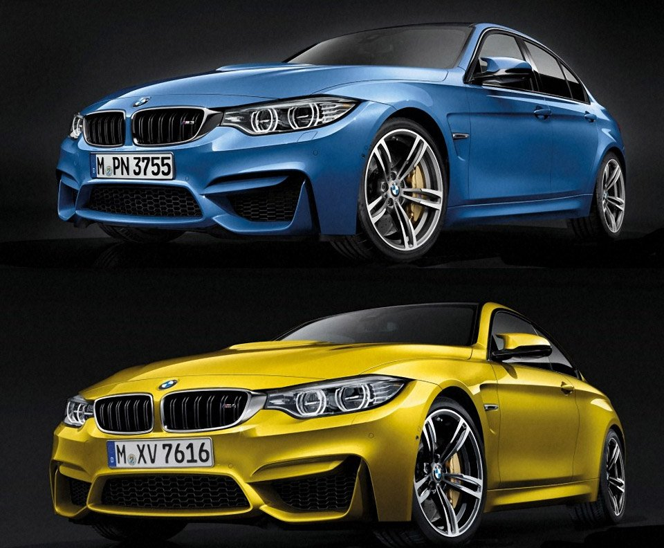 BMW M3 and M4 Photos Leaked