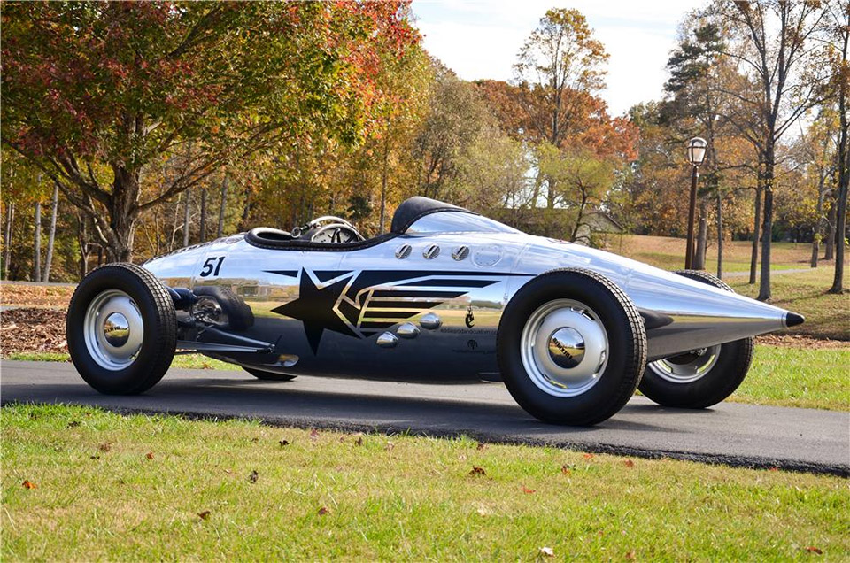 Lockheed Lakester Custom Roadster Is Shiny Airplane-inspired Racer