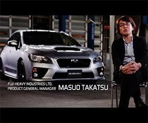 Designing the 2015 Subaru WRX