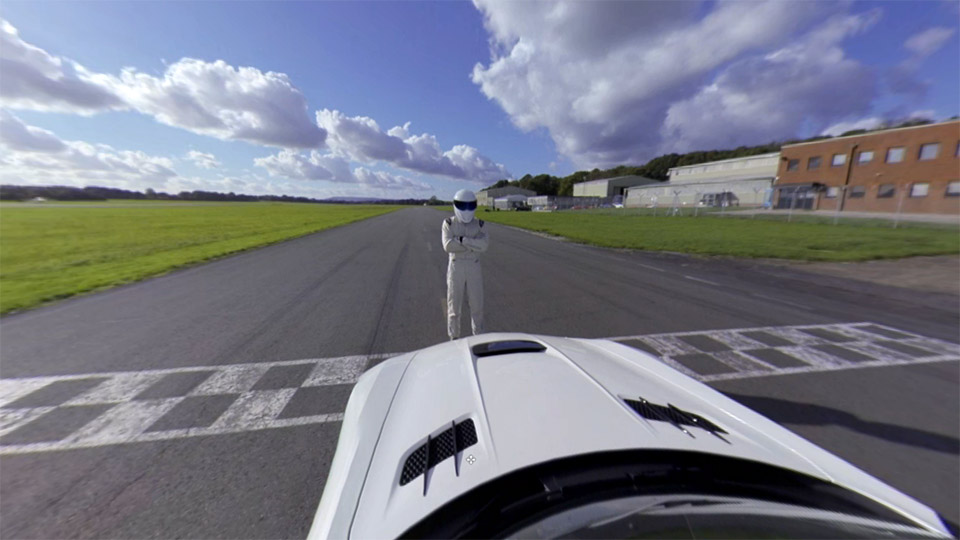 Take a Virtual Tour of the Top Gear Track with Stig