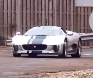 XCAR Drives Jaguar's Rare C-X75 Prototype