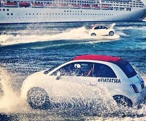 Fiat 500s Go for a Swim