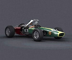 Incredible Animated F1 Transformations