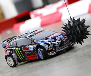 Gymkhana Six Recreated with 1/18th Scale Racer