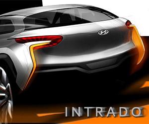 Hyundai Teases Intrado Fuel Cell Concept
