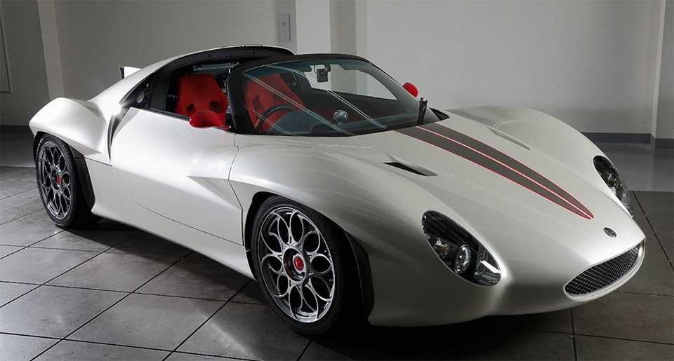 Kode9 Sports Car from Ken Okuyama
