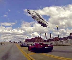 Koenigsegg Gets Airborne in Need for Speed Stunt