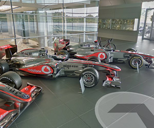 McLaren Technology Centre: Google Street View