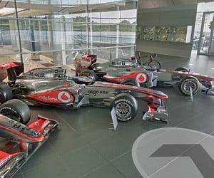 McLaren Technology Centre: Google Street View